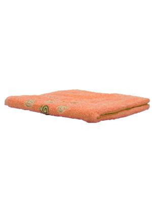 Полотенце махровое KONONO. Цвет: персиковый
