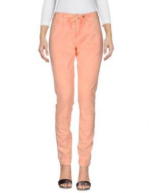 Джинсовые брюки MET & FRIENDS. Цвет: оранжевый