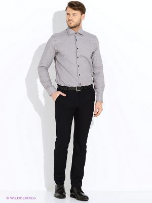 Рубашка Greg Horman. Цвет: серо-коричневый