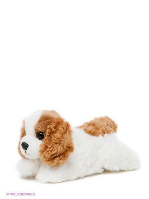 Мягкая игрушка Королевский Кокер-спаниель Aurora. Цвет: белый, коричневый