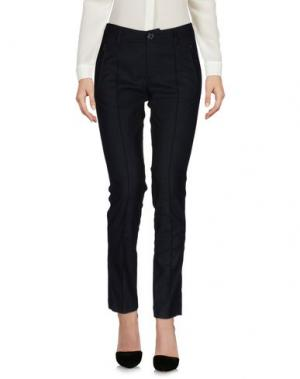 Повседневные брюки FAIRLY. Цвет: темно-синий