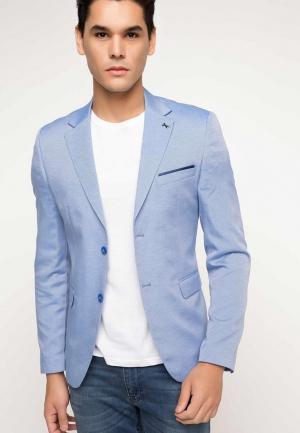 Пиджак DeFacto. Цвет: голубой