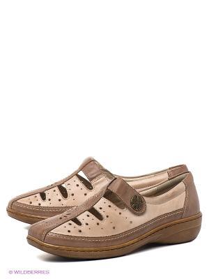 Туфли Baden. Цвет: коричневый