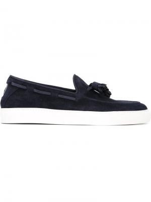 Палубные туфли Henderson Baracco. Цвет: синий