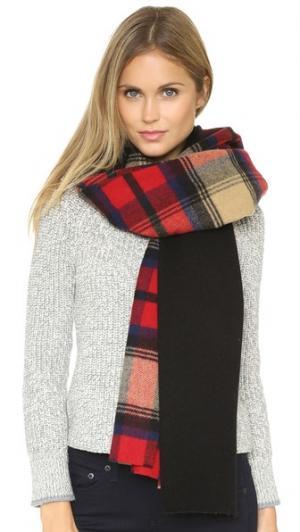 Трикотажный шарф в крупную шотландскую клетку Standard Form