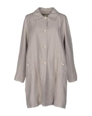 Легкое пальто EUROPEAN CULTURE. Цвет: серый