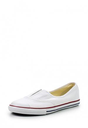 Слипоны Converse. Цвет: белый