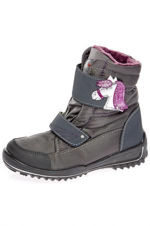 Ботинки Ricosta. Цвет: зеленый