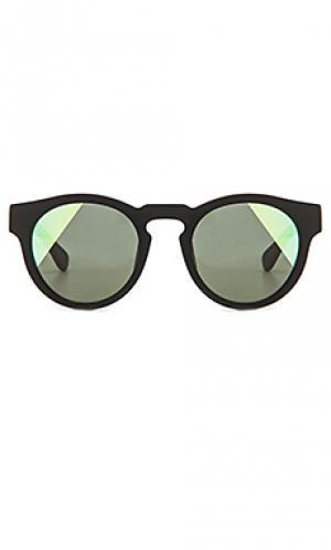 Солнцезащитные очки voyager WESTWARD LEANING. Цвет: черный