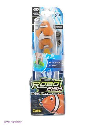 Робо-рыбка Клоун ZURU. Цвет: оранжевый