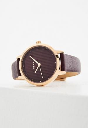 Часы DKNY. Цвет: фиолетовый