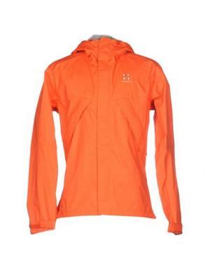Куртка HAGLÖFS. Цвет: коралловый
