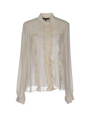 Pубашка TARA JARMON. Цвет: слоновая кость