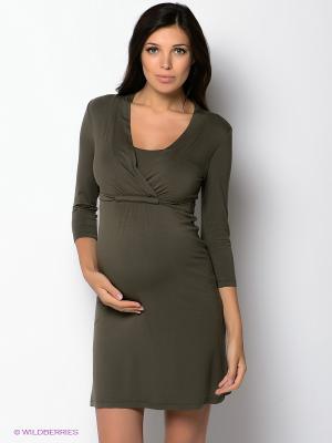 Платье ESPRIT. Цвет: темно-зеленый