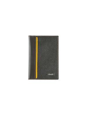 Обложка для паспорта, с отделением карт, БРУНО Domenico Morelli. Цвет: желтый