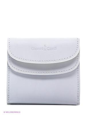 Портмоне Gianni Conti. Цвет: белый