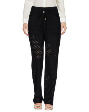 Повседневные брюки LA FABBRICA del LINO. Цвет: черный
