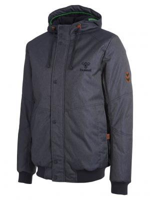 Куртка ARCHIBAL JACKET HUMMEL. Цвет: синий