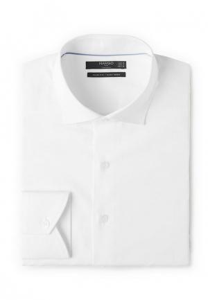Рубашка Mango Man. Цвет: белый