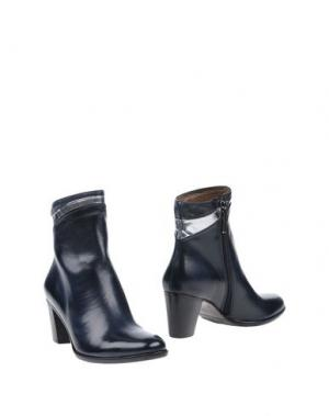 Полусапоги и высокие ботинки CALPIERRE. Цвет: темно-синий
