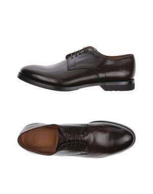 Обувь на шнурках FRANCESCHETTI. Цвет: темно-коричневый
