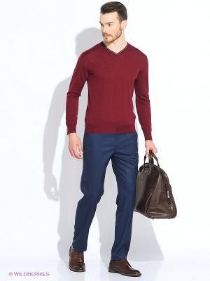 Пуловер Maurizio Baldassari. Цвет: бордовый