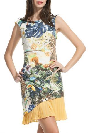 Платье Ludomara fashion. Цвет: мультицвет
