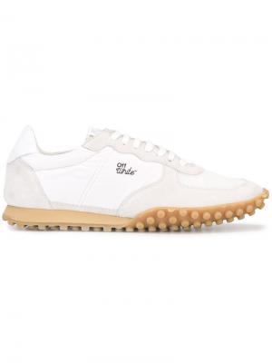Туфли на шнуровке Off-White. Цвет: белый