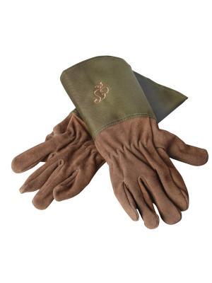 Перчатки Esschert Design. Цвет: хаки, коричневый