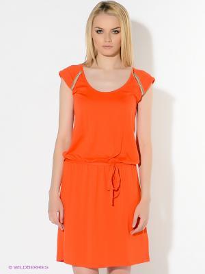Платье American Outfitters. Цвет: коралловый