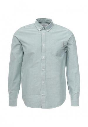 Рубашка Carhartt. Цвет: зеленый