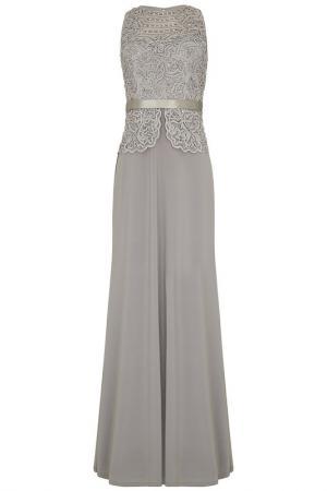 Платье Dynasty. Цвет: серый