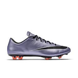 Мужские футбольные бутсы для игры на твердом грунте  Mercurial Veloce II Nike. Цвет: пурпурный