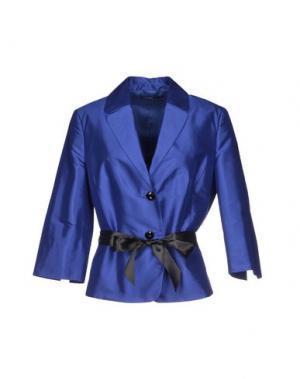 Пиджак VERA MONT. Цвет: синий