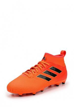 Бутсы adidas Performance. Цвет: оранжевый