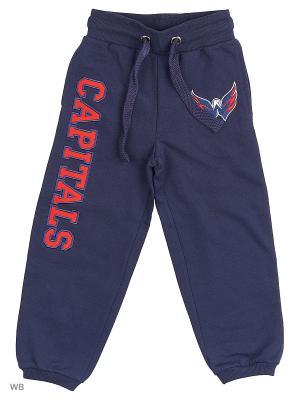 Брюки NHL Capitals Atributika & Club. Цвет: синий