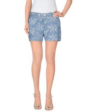 Повседневные шорты OAKS. Цвет: синий