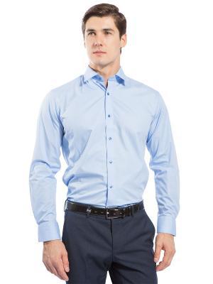 Рубашка под костюм GroStyle. Цвет: голубой