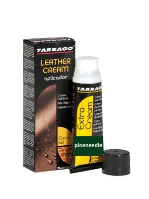 Крем тюбик с губкой Leather cream, БОЛЬШОЙ, 75мл. (пихта) Tarrago. Цвет: зеленый