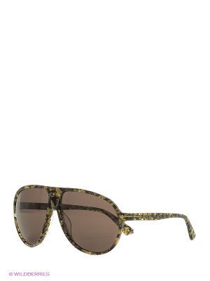 Солнцезащитные очки TM 509S 03 Opposit. Цвет: черный, хаки