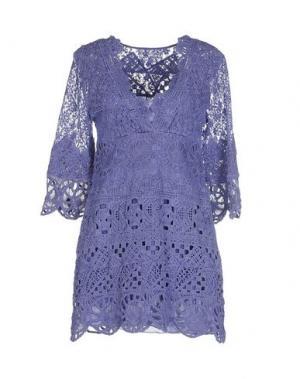 Короткое платье TEMPTATION. Цвет: сиреневый