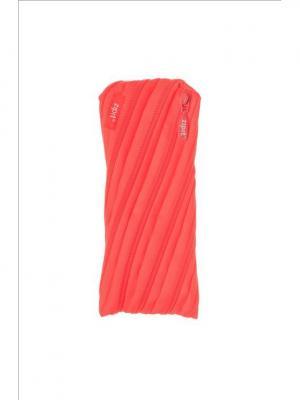 Пенал-сумочка NEON POUCH, цвет персиковый ZIPIT. Цвет: оранжевый