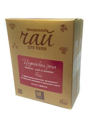Чай для Ванн минеральный. Индийская роза Маникюр уход за ногтями (пилинг-эффект), 2 шт Spa Travel. Цвет: прозрачный