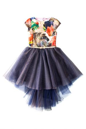 Платье Сказочный сон I love to dream. Цвет: синий