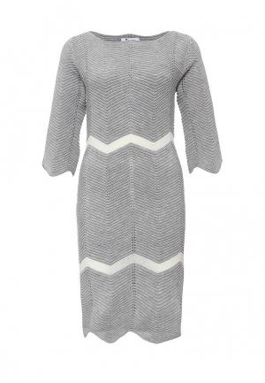 Платье Paccio. Цвет: серый