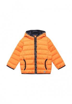Куртка утепленная s.Oliver. Цвет: оранжевый