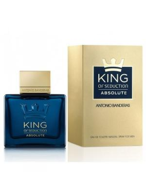 King Of Seduction Absolute men edt 50 ml ANTONIO BANDERAS. Цвет: темно-синий