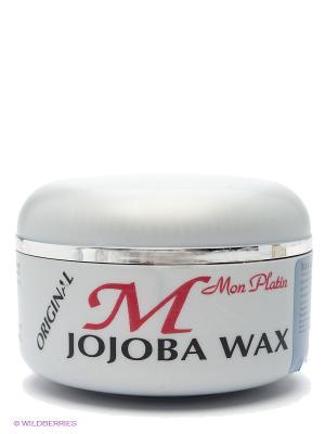 Воск для волос с жожоба,  150мл Mon Platin DSM. Цвет: серый