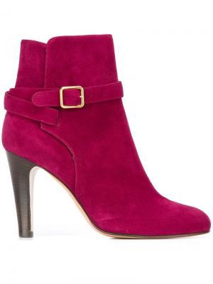 Ботинки с ремешком на щиколотке Michel Vivien. Цвет: розовый и фиолетовый