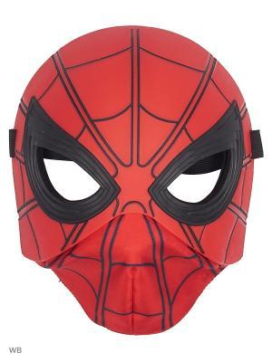 Карнавальная маска Spider-Man. Цвет: красный, синий